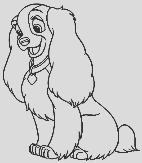 child dog coloring pages