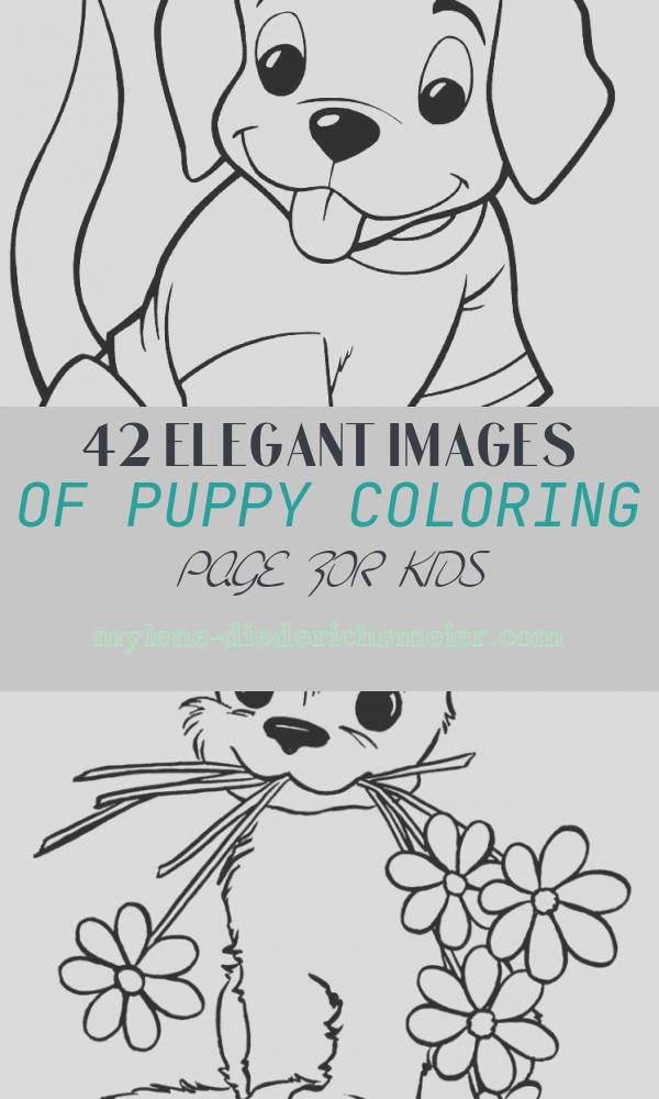 Puppy Coloring Page for Kids Fresh Puppy Coloring Pages Best Coloring Pages for Kids