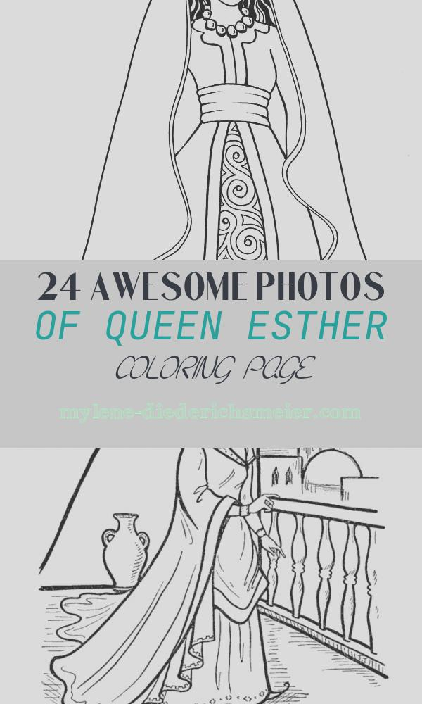 Queen Esther Coloring Page Elegant Princess Dress Inspiration