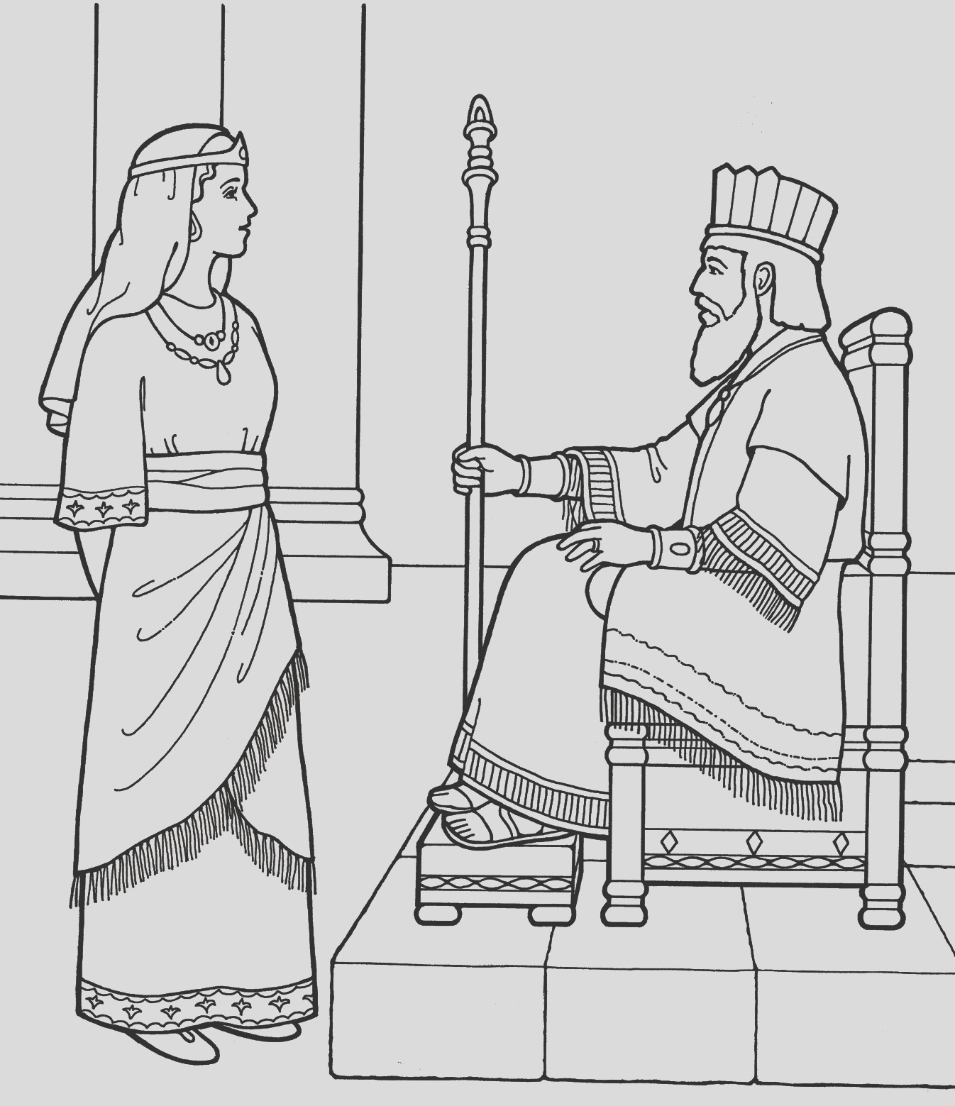 queen esther coloring pages encourage coloring picture