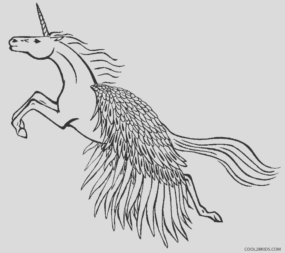pegasus coloring pages