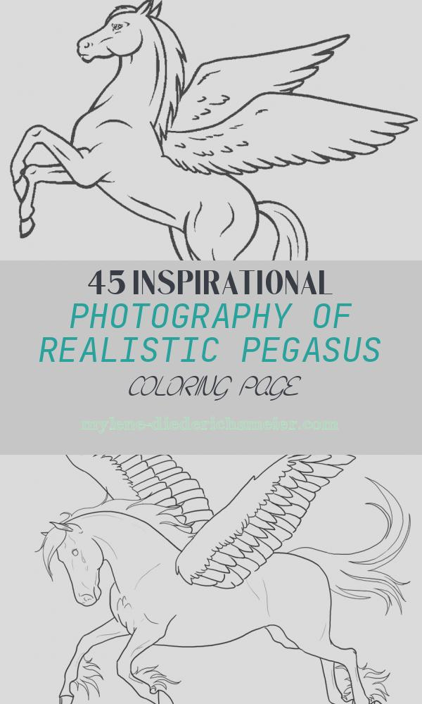 Realistic Pegasus Coloring Page Unique Printable Pegasus Coloring Pages for Kids