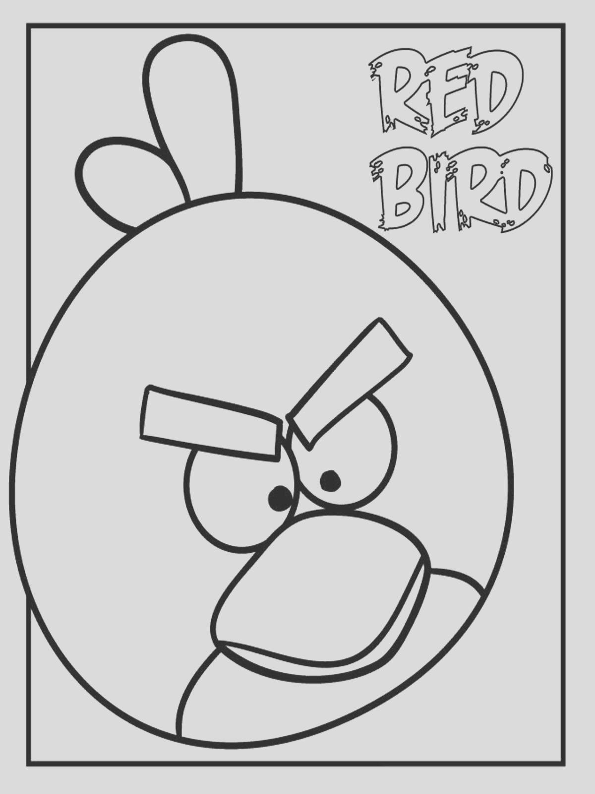 angry birds colouring pages that you