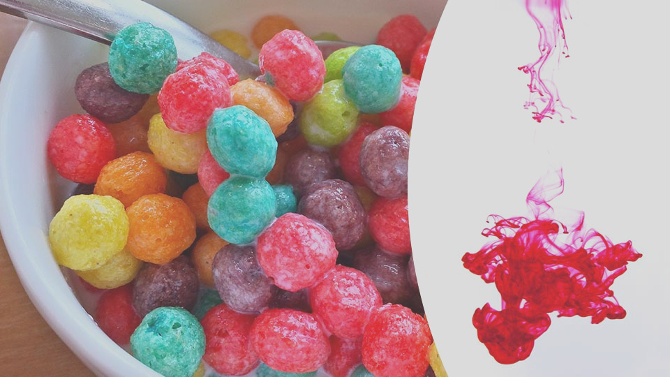 this is what artificial and natural food colors contain