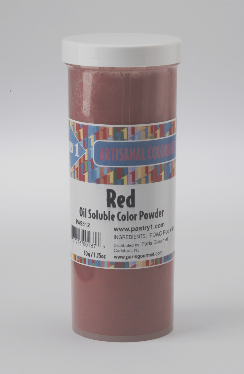 Food Coloring Powder Fat Soluble Red Pastry 1