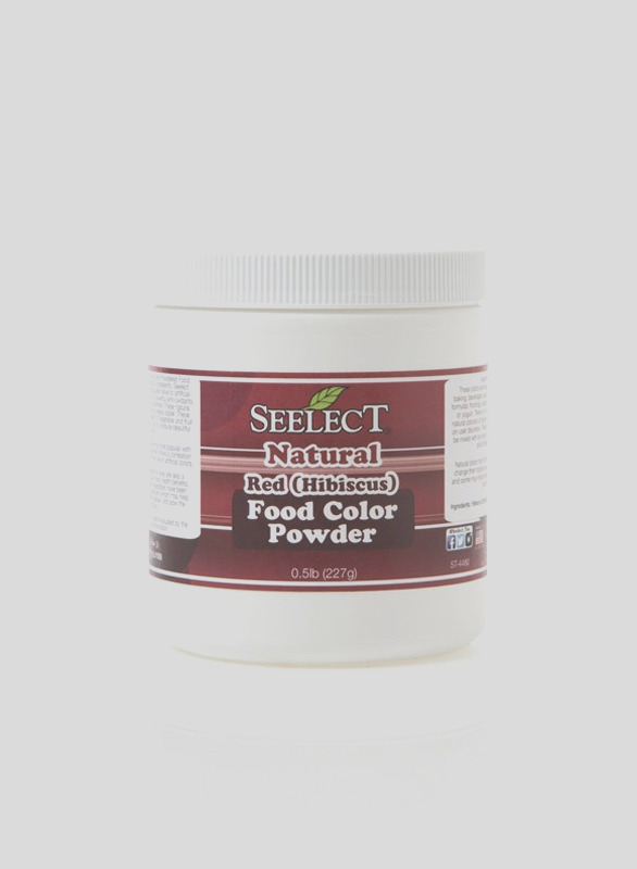 blue red food coloring powder made with hibiscus natural