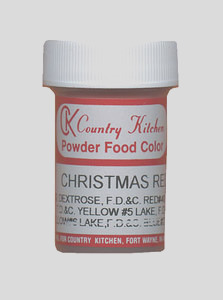 8092 christmas red powdered food coloring