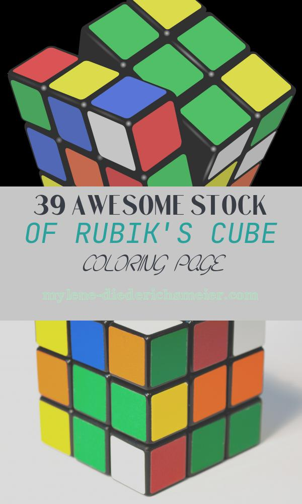 Rubik's Cube Coloring Page Luxury Rubik S Cube