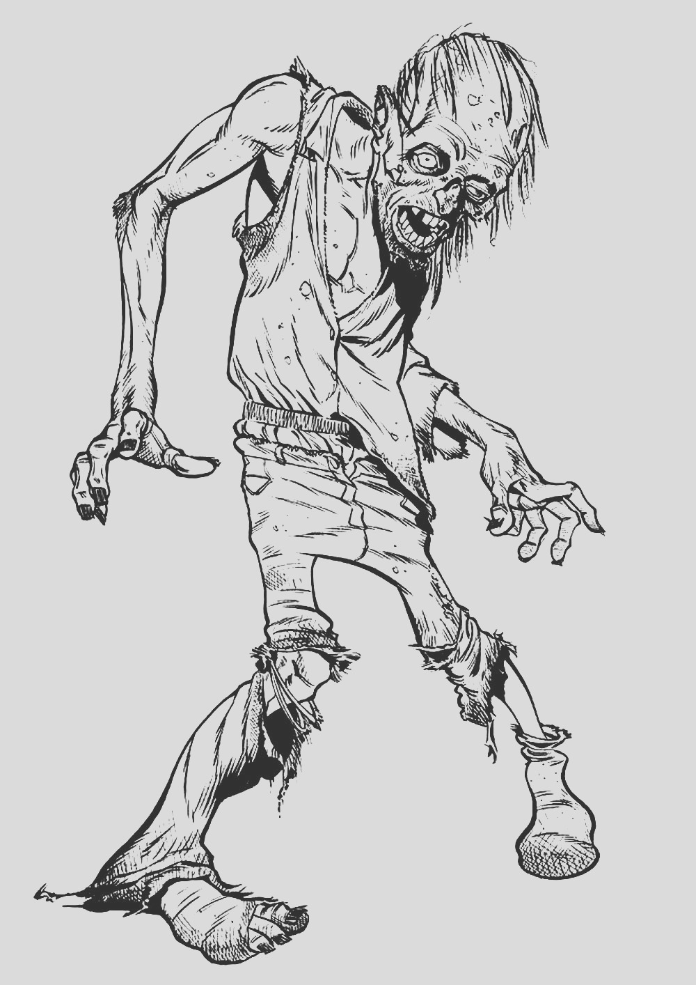 image=events halloween coloring zombie walking 1