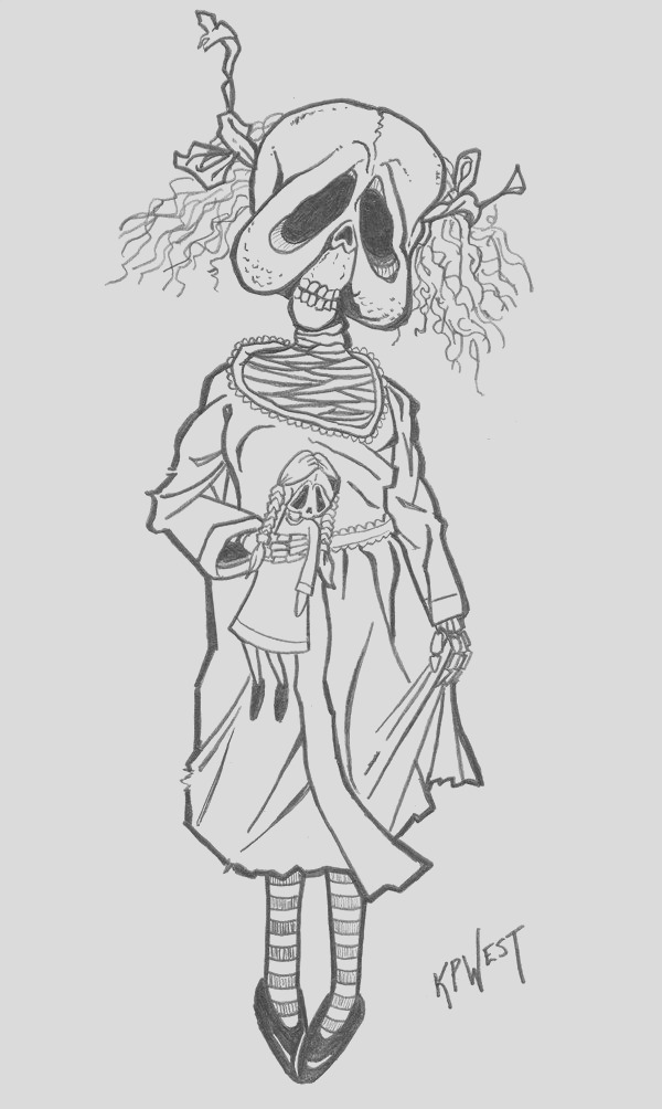 horror adult coloring pages