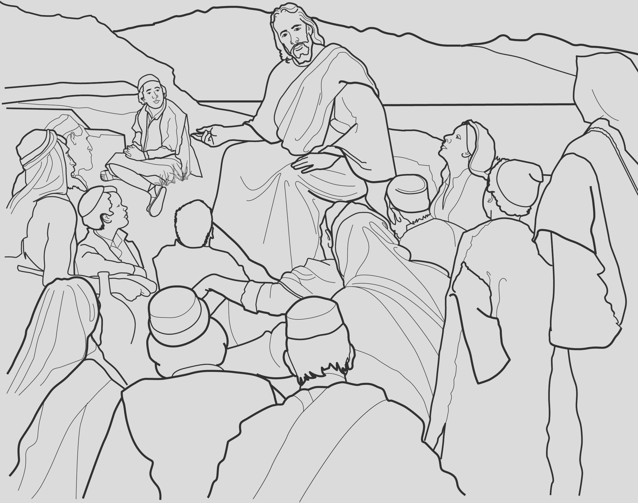 jesus christ sermon on mount lang=eng