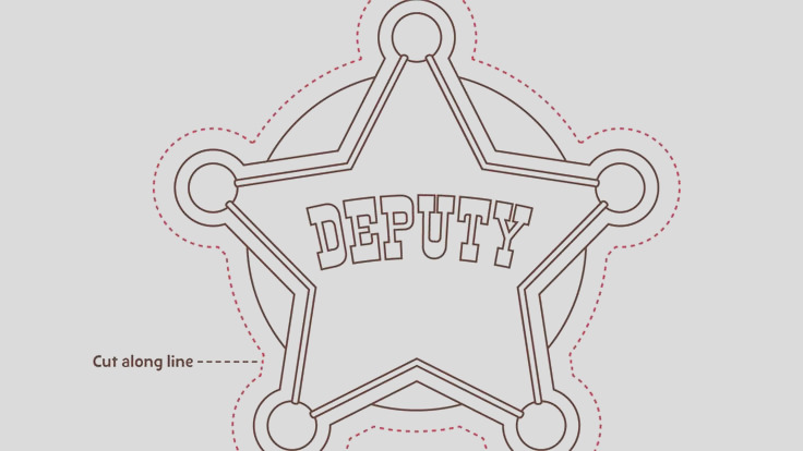 26 images of deputy sheriff badge template 54