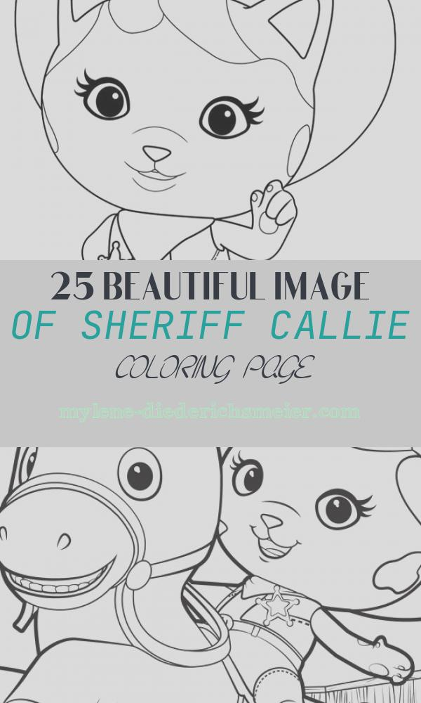 Sheriff Callie Coloring Page Fresh Sheriff Callie S Coloring Pages