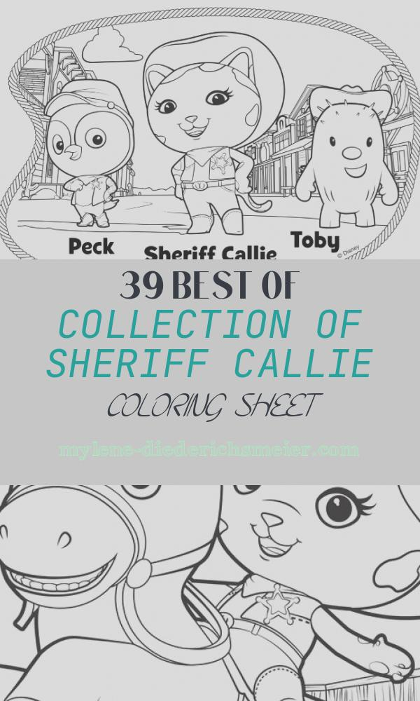 Sheriff Callie Coloring Sheet Elegant Howdy Partner Disney Sheriff Callie Coloring Pages