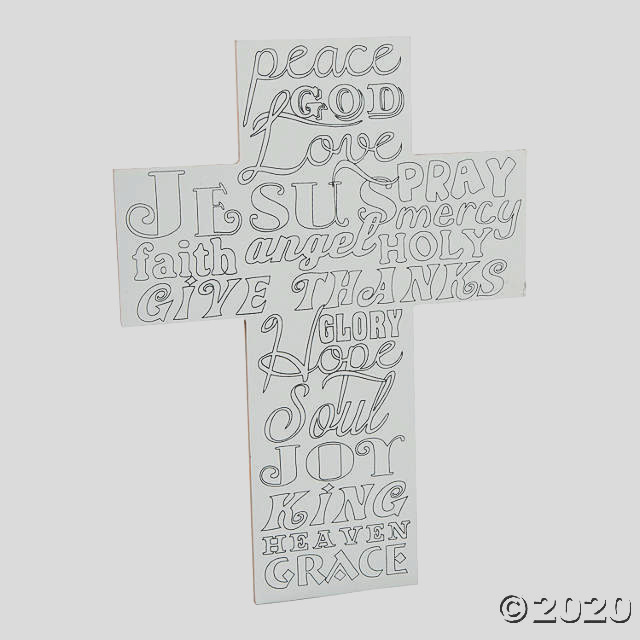 adult coloring cross sign a2 fltr