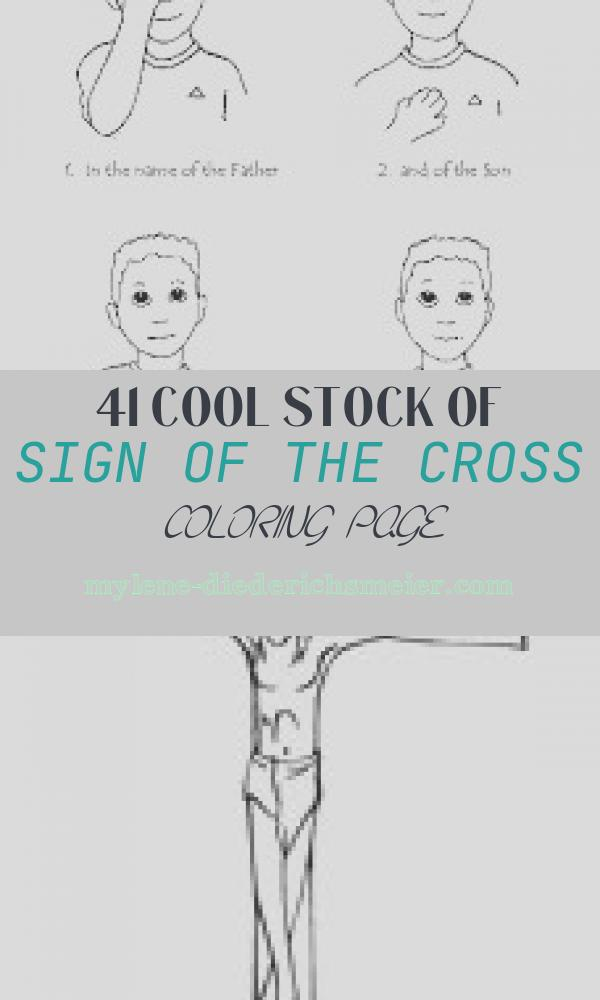 Sign Of the Cross Coloring Page New the Catholic toolbox Special events for September