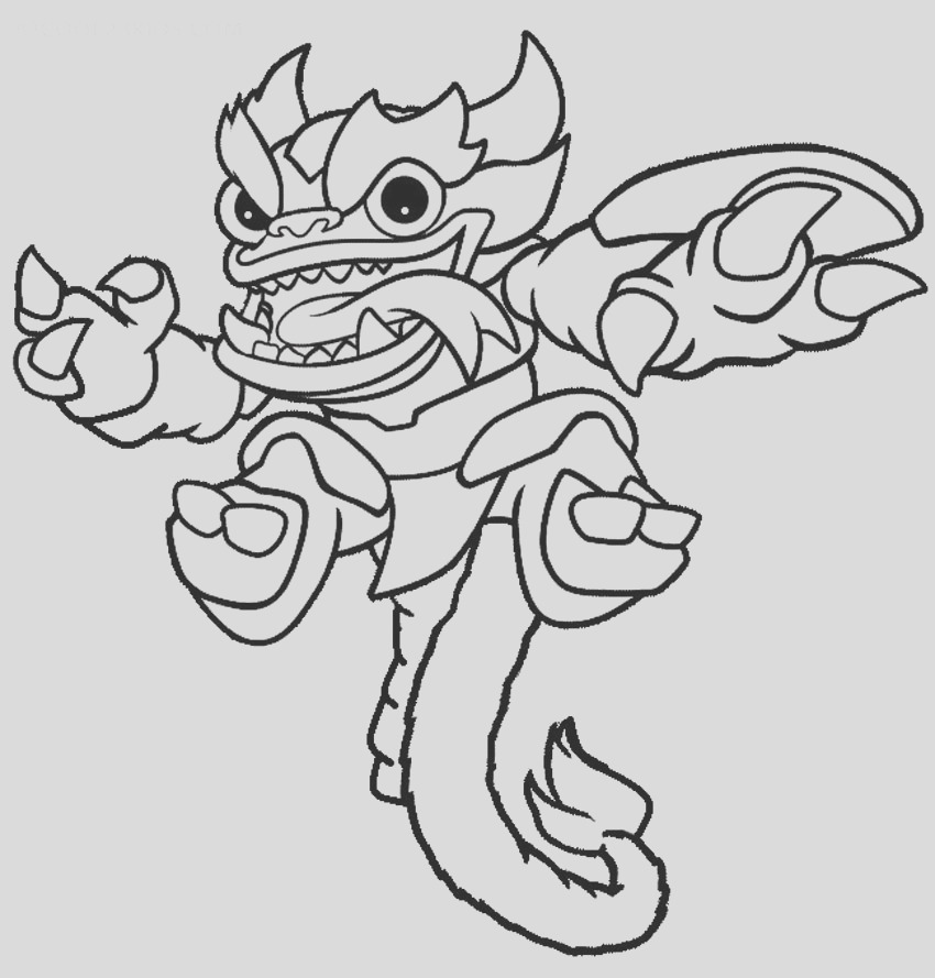 skylander giants coloring pages