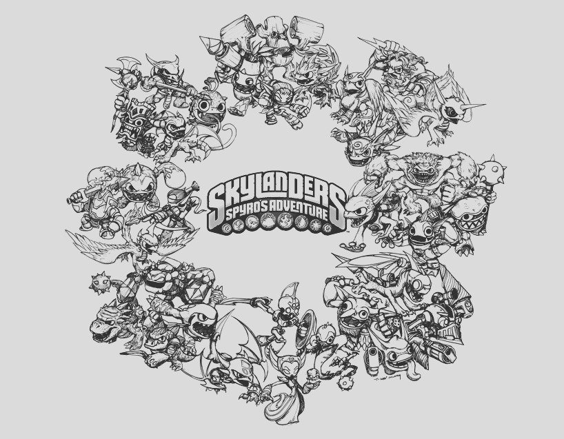 image=skylanders Coloring for kids skylanders 3094 1