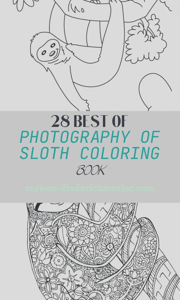 Sloth Coloring Book Elegant Hanging Sloth Coloring Pages