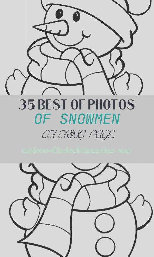 Snowmen Coloring Page Elegant Free Printable Snowman Coloring Pages for Kids