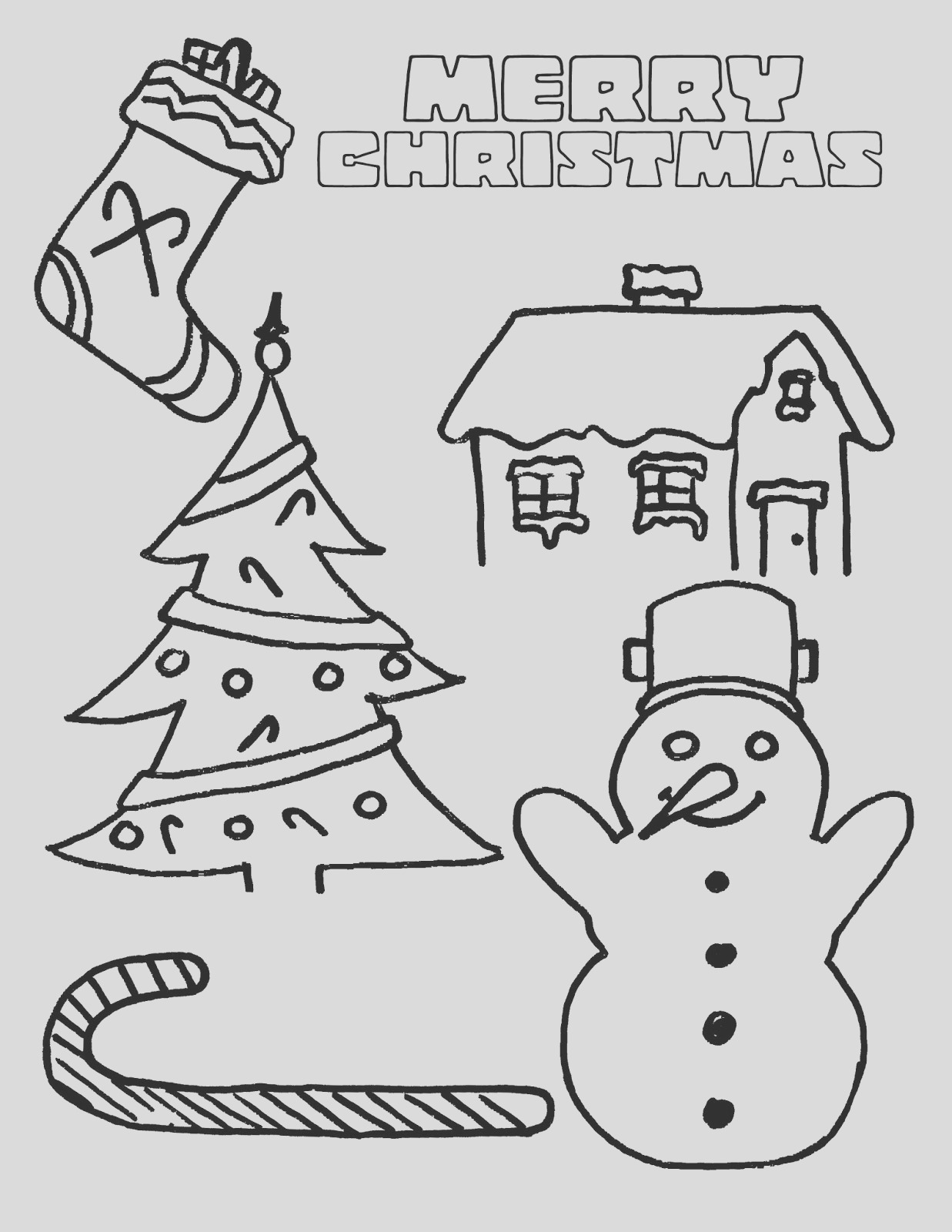 christmas snowman coloring pages free