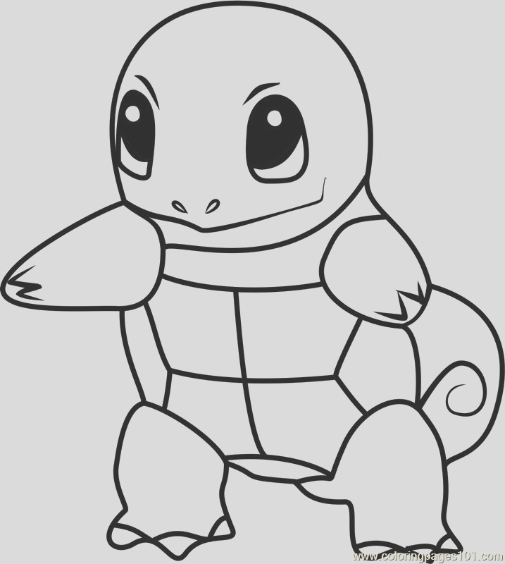 Squirtle Coloring part 4