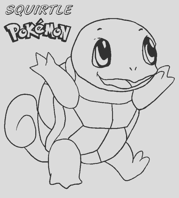 Squirtle Coloring part 3