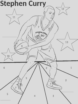 Types of Numbers NBA Coloring Sheet