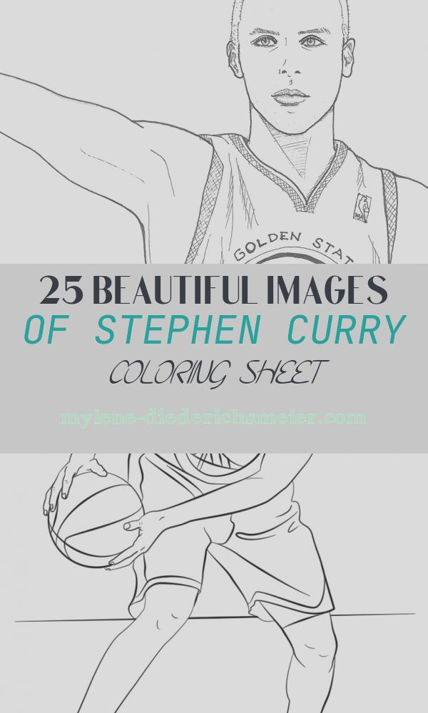 Stephen Curry Coloring Sheet New Stephen Curry Coloring Pages