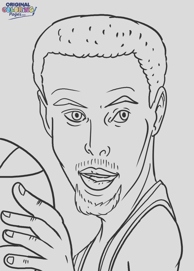 stephen curry coloring pages