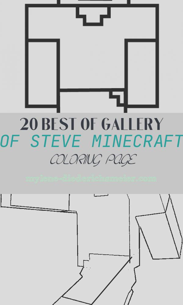 Steve Minecraft Coloring Page Beautiful Steve Coloring Page Minecraft
