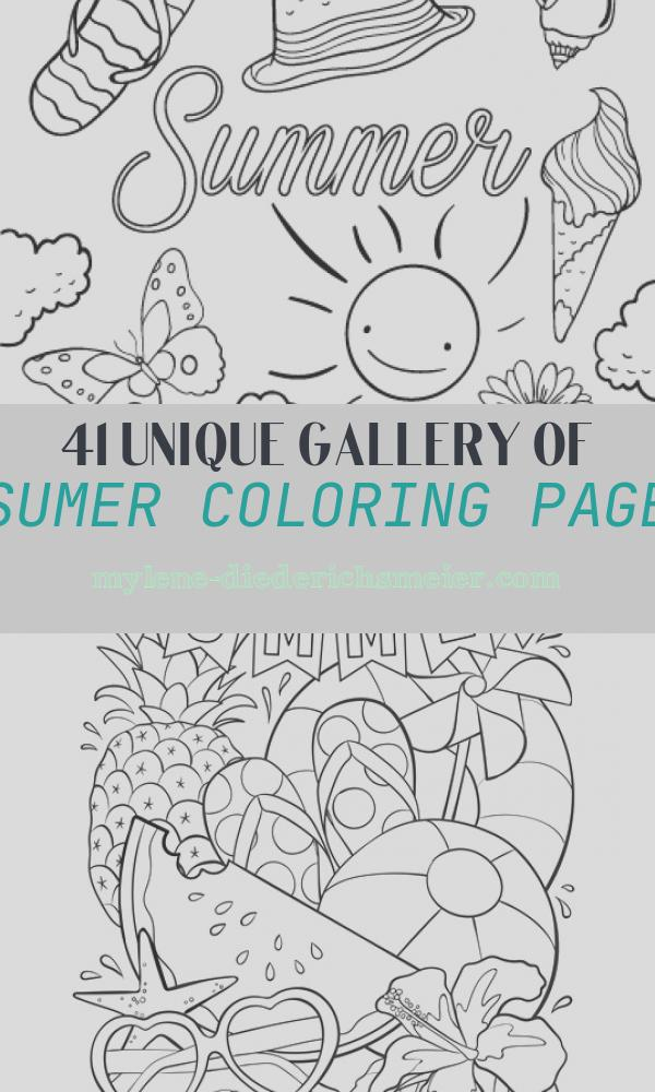 Sumer Coloring Page Inspirational 20 Free Printable Summer Coloring Pages