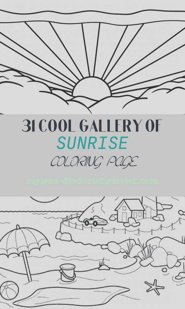 Sunrise Coloring Page New Sunrise by Roy Lichtenstein Coloring Page