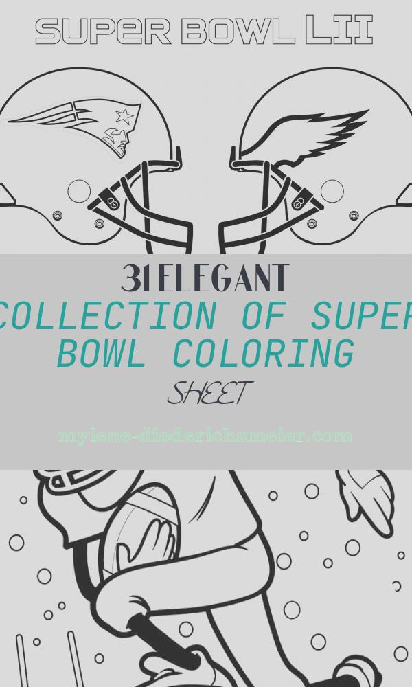 Super Bowl Coloring Sheet Fresh Super Bowl 2018 Coloring Page