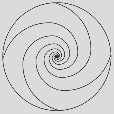 simple swirl sketch templates