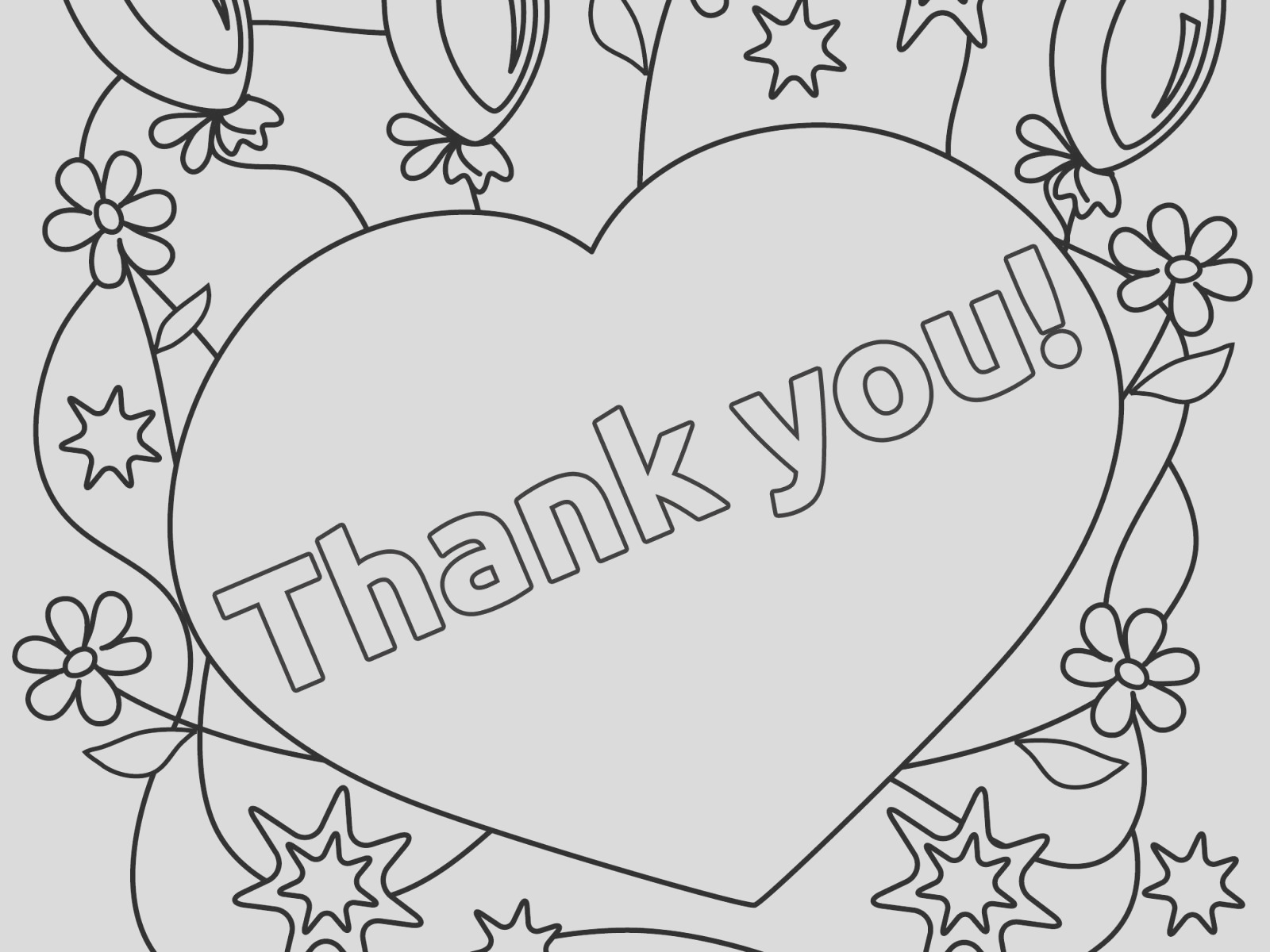thank you god coloring pages