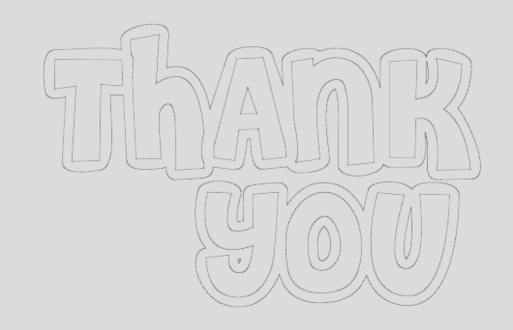 thank you coloring pages free
