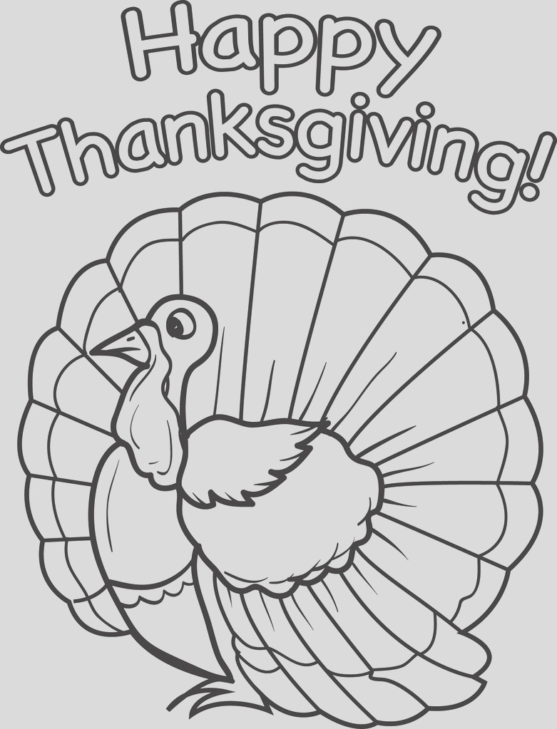 turkey coloring page 14 a4731