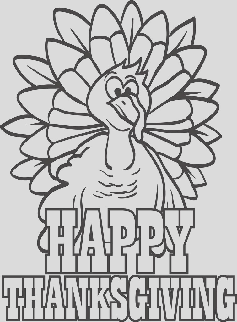 turkey coloring page 9 a4725
