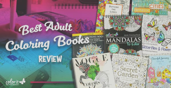 what are the best coloring books for adults