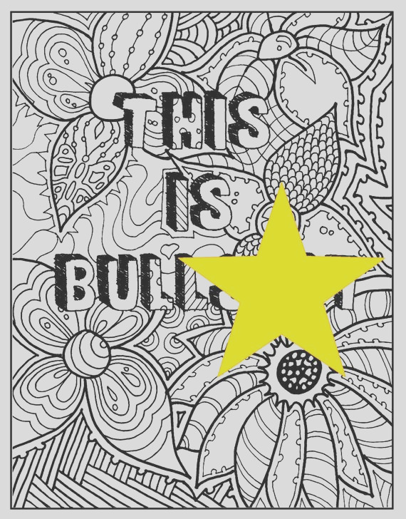 swear words coloring book page this is