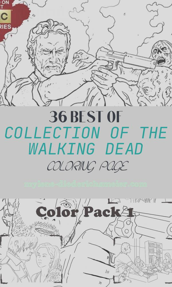 The Walking Dead Coloring Page Awesome Color In Your Favorite Corpses with the Walking Dead