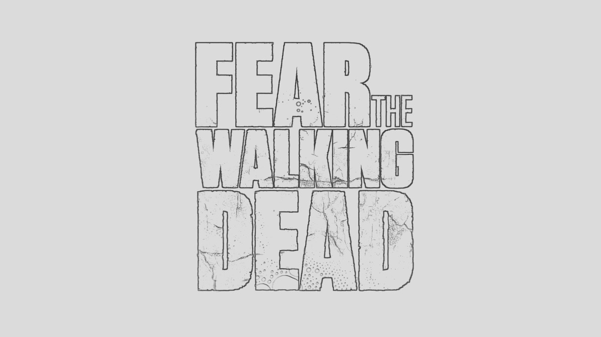 Fear Walking Dead coloring page