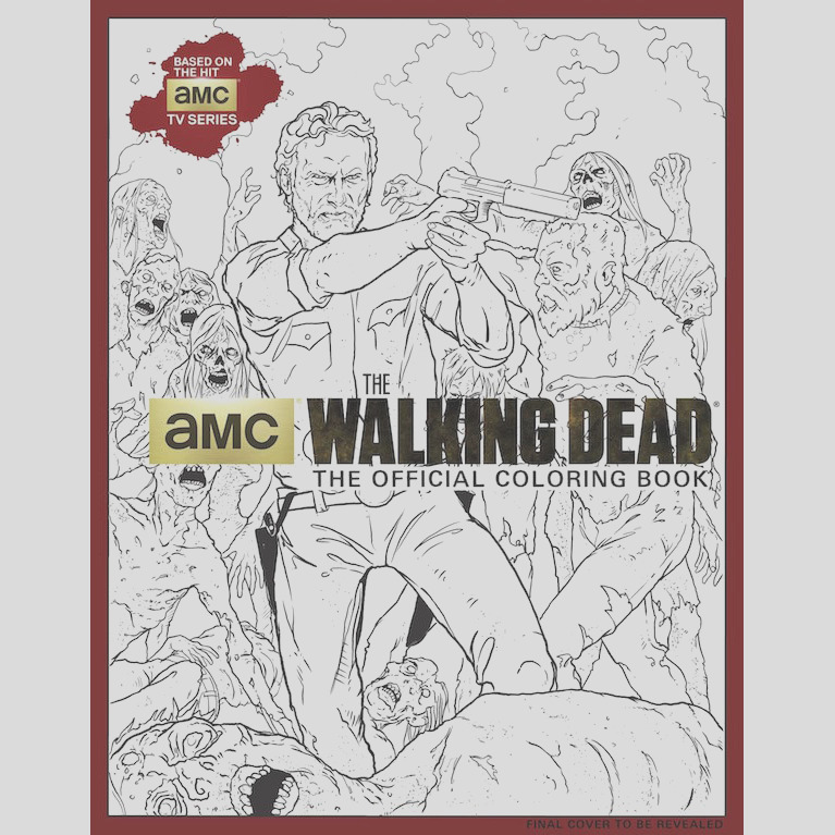 the walking dead coloring books