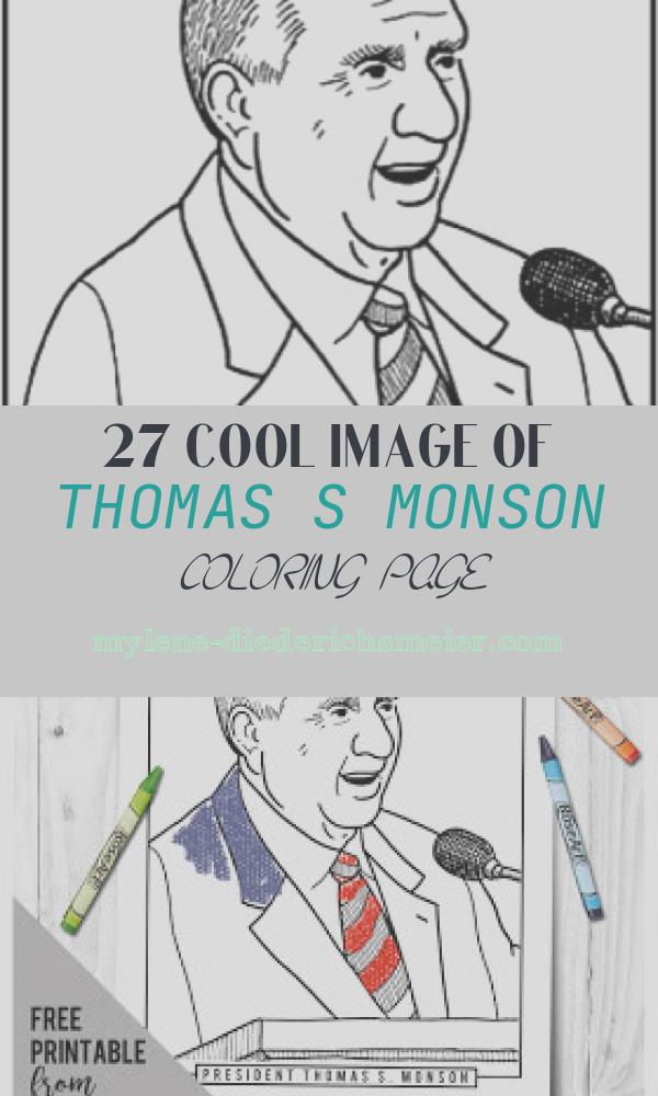 Thomas S Monson Coloring Page Awesome Primarily Inclined Primary 4 Lesson 2
