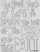 ldd prophets coloring pages