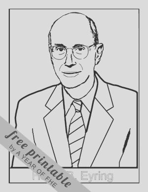 president monson general conference coloring page sketch templates