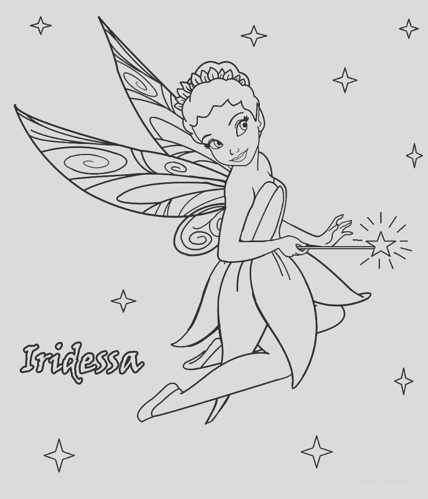 disney fairies coloring pages