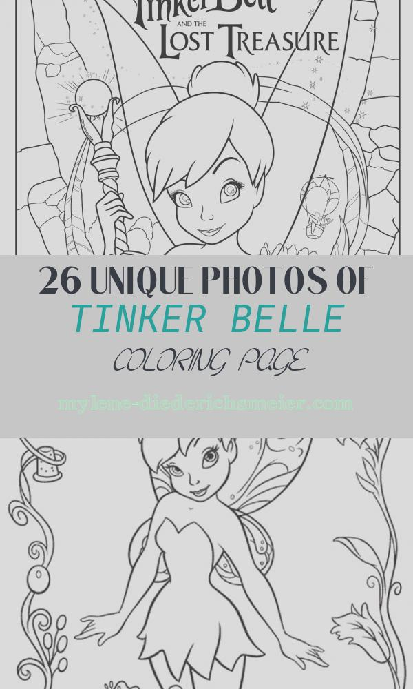 Tinker Belle Coloring Page Unique Tinker Bell and the Lost Treasure 2009 S and