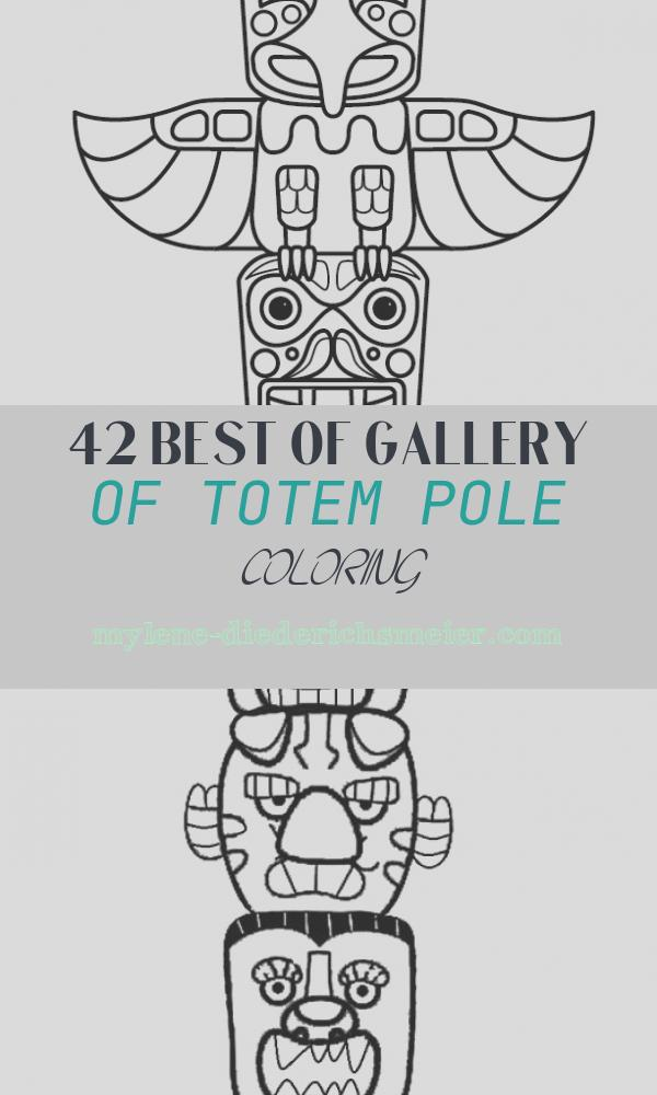 Totem Pole Coloring Luxury Free Printable totem Pole Coloring Pages for Kids